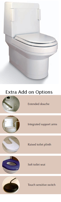 Clos O Mat Shower Toilet