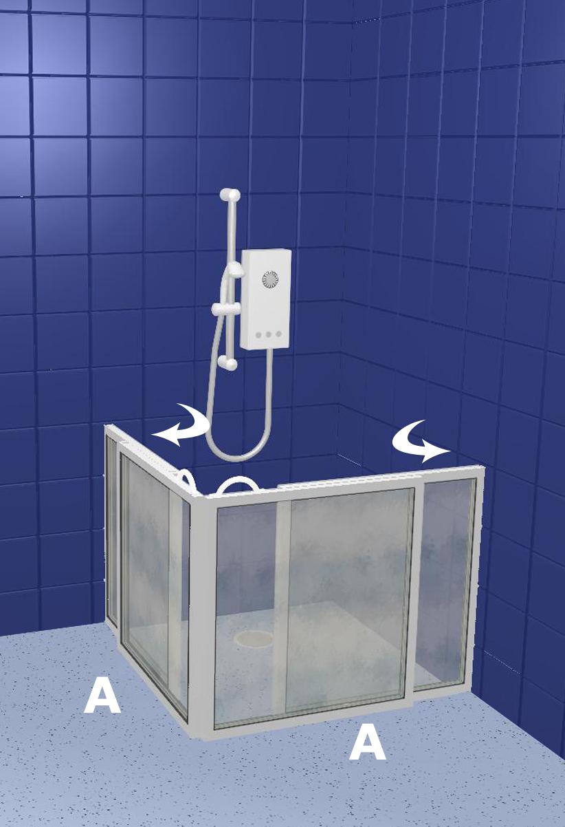 Walk In Shower Disabled Toilets Walk In Shower Doors Wf5 Custom Walk In Shower Travertine
